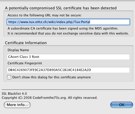 0000665: Intermediate level-3 certificate is MD5-signed